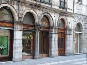 The Umberto Saba Antiquarian Bookshop in Trieste