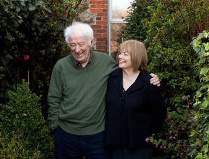 Seamus Heaney, with his wife Marie Devlin, at their home in Dublin.